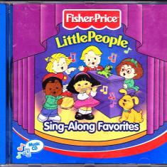 CD original SUA cu cantece americane pentru copii, de la Fisher-Price - Muzica pentru copii