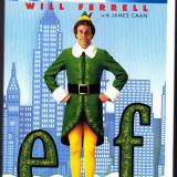 DVD filmul Elf,  original SUA, doua DVD-uri cu jocuri, karaoke si multe altele