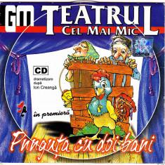 CD cu povestea Punguta cu doi bani, dramatizare Teatrul cel mai mic