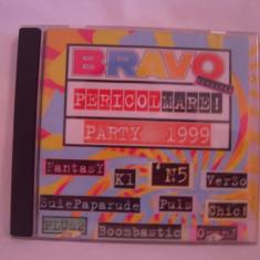 Vand cd -Bravo-Pericol Mare-Party 1999,original,aproape nou!, nova music