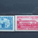 Romania 1944 - CAMINUL CULTURAL RADASENI, serie nestampilata D241 - Timbre Romania