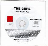 CD original MCM - The Cure, disc 1, 1996