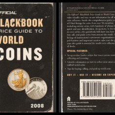 HUDGEONS - THE OFFICIAL BLACKBOOK 2008 PRICE GUIDE TO WORLD COINS - 11TH EDITION (MONEDE, MONETE, VALUTE, EVALUARE)