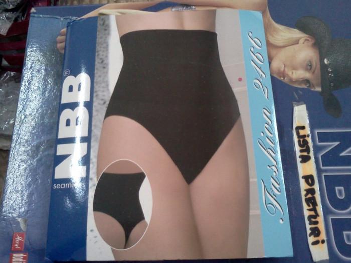 burtiera /corset  NBB - cu efect de modelare si subtiere a corpului-cu chilot tanga-SUPER OFERTA!! foto mare