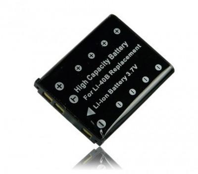 Acumulator calitate premium tip Olympus Li-40B Li40B Li-42B 100% compatibil Olympus D-630 Zoom   IR-300   SP-700   mJu 550WP   mJu 700   710   720 foto