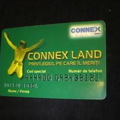 CARD CONEX LAND- - Cartela telefonica romaneasca