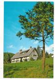carte postala(ilustrata)-M-tii BUCEGII-CABANA Zanoaga