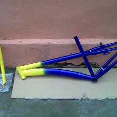 Cadru si furca otel nou - Piesa bicicleta, Cadre si urechi