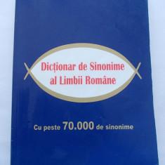 DICTIONAR DE SINONIME AL LIMBII ROMANE, EDITURA ELIS - Dictionar sinonime