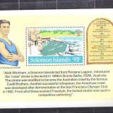 1984 Solomon Islands bloc 544 conditie**