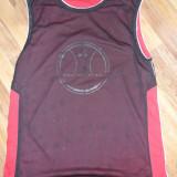 Maieu KIPSA doua fete negru/rosu marime M(L) (basketball baschet nba), Marime: L, Tricouri