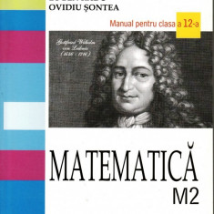 MATEMATICA M2- MANUAL PT CLASA A XII A de EUGEN RADU ED. ALL - Manual scolar all, Clasa 12