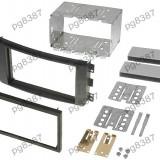Rama adaptoare Smart ForTwo,negru, 2 DIN-000510