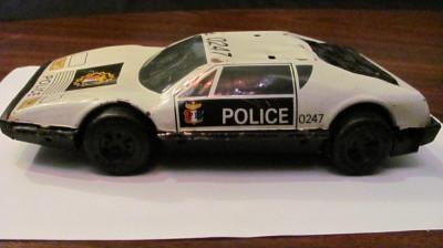PVM - Masina veche de tabla de politie foto