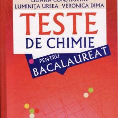 TESTE DE CHIMIE PENTRU BACALAUREAT de LILIANA CONSTANTIN ED. ALL