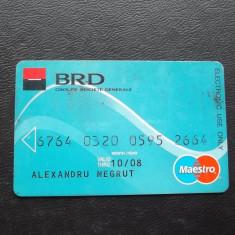 CARD BRD MAESTRO - 2008 ( NR 7777 ) - Card Bancar