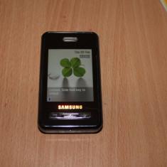 Telefon Dual SIM Samsung D980 - Telefon Samsung, Negru, 2GB, Neblocat, 2.6''