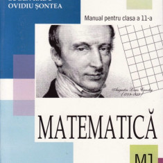 MATEMATICA M1- MANUAL PT CLASA A XI A de EUGEN RADU ED. ALL - Manual scolar all, Clasa 11
