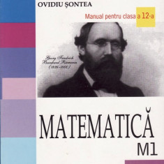 MATEMATICA M1- MANUAL PT CLASA A XII A de EUGEN RADU ED. ALL - Manual scolar all, Clasa 12