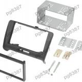 Rama adaptoare Audi TT,negru, 2 DIN-000511
