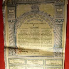 Actiune - Societatea Creditului Funciar Urban din Bucuresti 1945