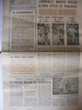 SPORTUL SUPLIMENT FOTBAL ANUL V - NR. 199  17 FEB. 1989 4 pag.(articol Steaua si Poli Timisoara ).