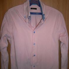 Camasa Barlet roz marimea M bumbac 100% - Camasa barbati, Marime: M, M, Maneca lunga