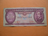 Ungaria  100  forint  1962  octombrie  12  B036