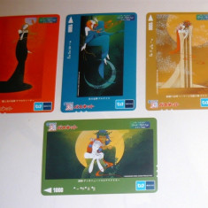 Set 4 cartele / carduri diverse - MITOLOGIE GREACA - 2+1 gratis toate licitatiile - RBK2366 - Cartela telefonica straina