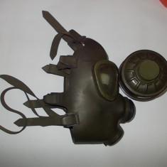 MASCA  DE DE GAZE MILITARA .
