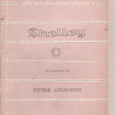 (C3267) SHELLEY - POEME, EDITURA TINERETULUI, 1957, IN ROMANESTE DE PETRE SOLOMON, POEZII