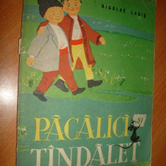 Pacalici si Tandalet de Nicolae Labis(1962) ilustratii Angi Petrescu-Tiparescu, Format MEDIU - Roman