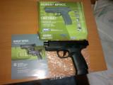 Pistol airsoft BERSA cu CO2 si RECUL, model 2013, ECONOMIC, Asg - Danemarca