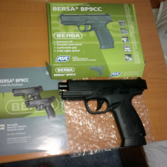Pistol airsoft BERSA cu CO2 si RECUL, model 2013, ECONOMIC - Arma Airsoft Asg - Danemarca