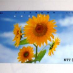 MOKAZIE! Cartela telefonica Japonia - NATURA, FLORI - 2+1 gratis toate produsele la pret fix - RBK2324 - Cartela telefonica straina