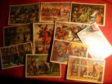 Set 47 Ilustratii din Istoria Ungariei si Transilvaniei - ed. anii ' 50