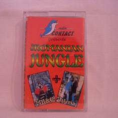 Vand caseta audio The Romanian Jungle - originala, raritate