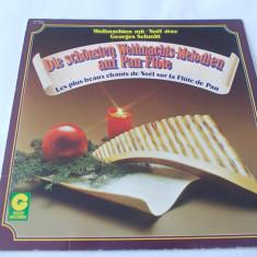 MUZICA, NAI . VINIL, Weihnachten mit (Noël avec) Georges Schmitt d. schönsten Weihnachtsmelodien auf Pan-Flöte - Muzica Ambientala