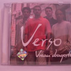 Vand cd Verso-Vreau Dragoste-original, nova music