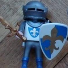 Figurina soldat cavaler medieval Evul Mediu PLAYMOBIL original accesorii complete
