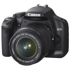 DSLR Canon 450D si obiectiv Tamron 70/300mm, Kit (cu obiectiv), 12 Mpx, Full HD
