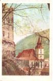 CPI (B2308) ORASUL STALIN, COMBINATUL POLIGRAFIC SIBIU, CIRCULATA 1957, STAMPILE, TIMBRE, RPR, Fotografie