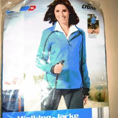 Bluza trening dama albastra 40/42 M marca CRANE Sports OFERTA, Culoare: Albastru, Poliester