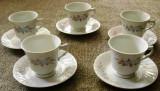 Set / Serviciu - ceai / cafea -  portelan China- marcat