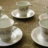 Set / Serviciu - ceai / cafea - portelan China- marcat - Ceasca