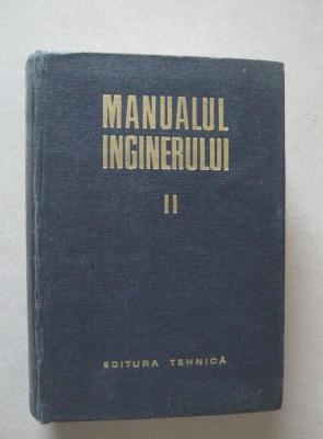 Gh. Buzdugan - Manualul inginerului (vol. 2 - Mecanica, Chimie generala, Masurari) foto