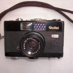 Aparat foto cu film Rollei B 35+tocul original Rollei, Mic