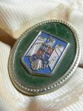 Emblema sapca / chipiu / cascheta  - piesa de colectie - efect militar