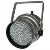 SPOT CU LEDURI / PAR LED 64 CU CONTROL DMX 512 FULL COLOR RGB. LUMINI DISCO, CLUB, SCENE - Lumini club