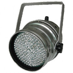 SPOT CU LEDURI / PAR LED 64 CU CONTROL DMX 512 FULL COLOR RGB. LUMINI DISCO,CLUB ,SCENE